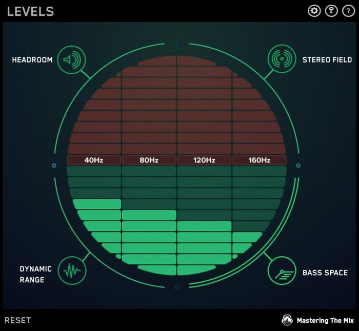 Mastering The Mix Levels bass space