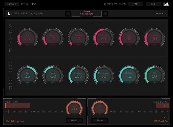 Numerical Audio RF-1 Reverb