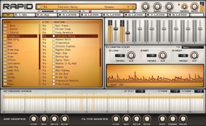 Parawave Audio Rapid browser