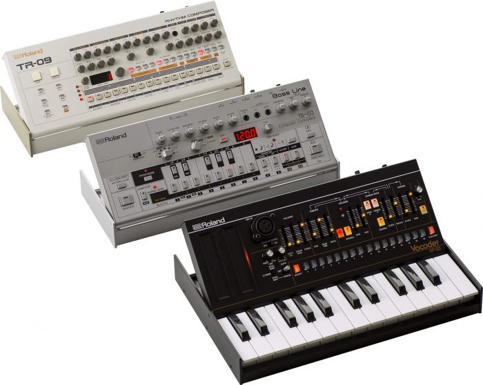 Roland TR-09, TB-03 and VP-03