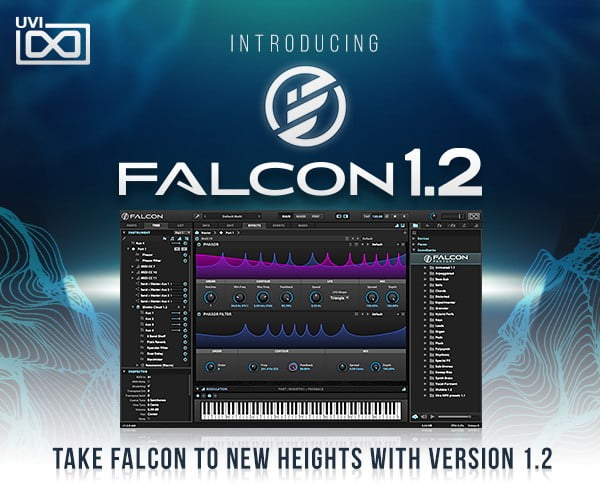 UVI Falcon gets new & updated modules, new presets and