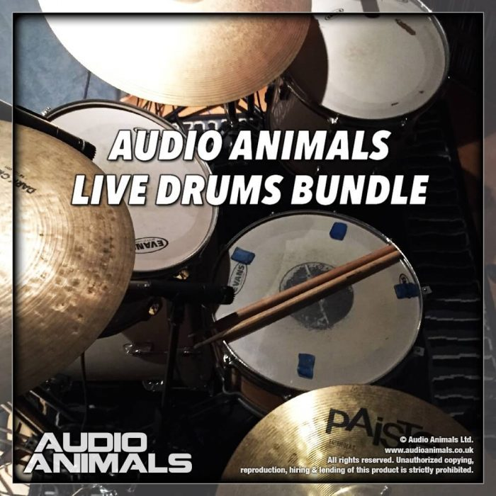 VST Buzz Audio Animals Live Drums Bundle