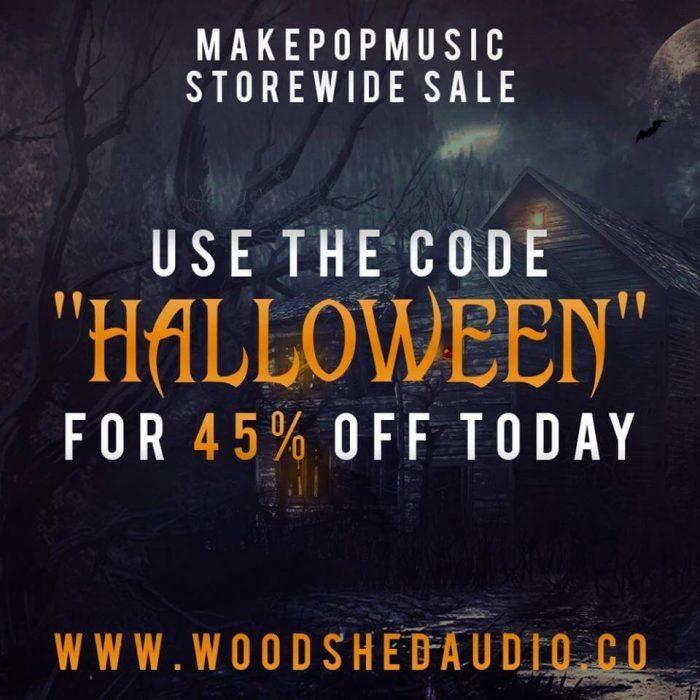 Woodshed Audio Halloween Sale