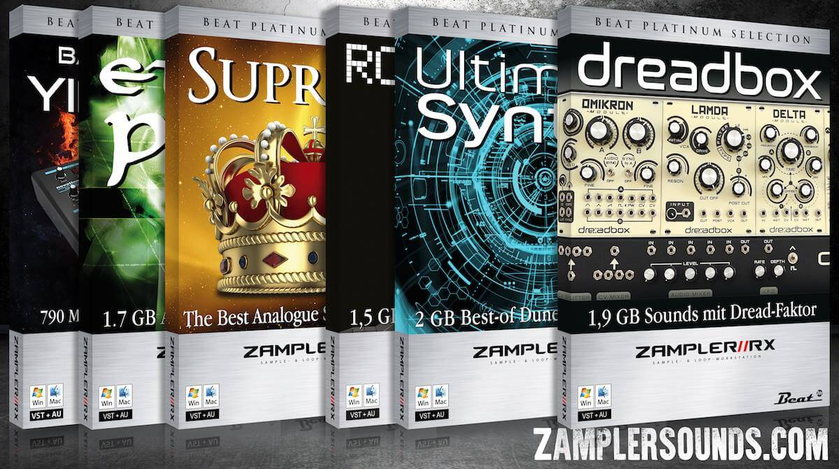 ZamplerSounds launched, win 5 free packs for Zampler//RX