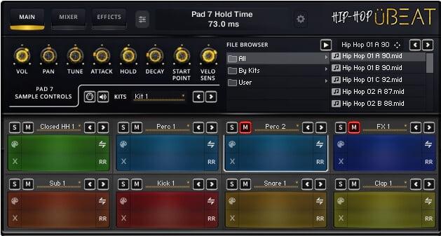 üBEAT HipHop Screenshot Main A