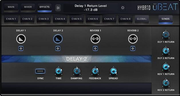 üBEAT Hybrid Screenshot Sends D