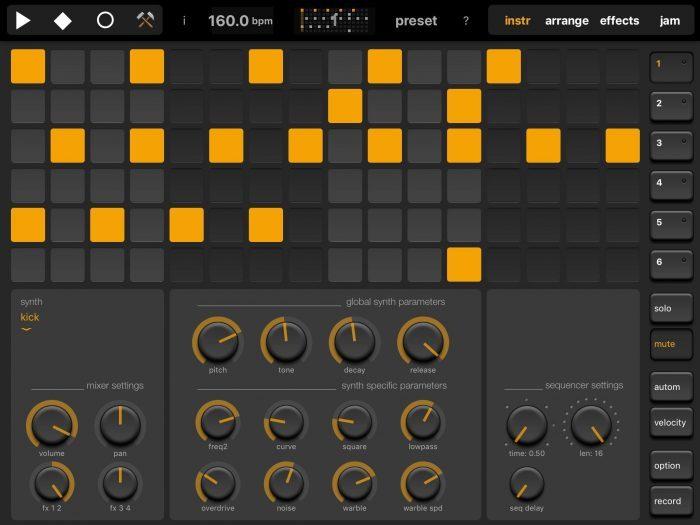 MoMinstruments Elastic Drums