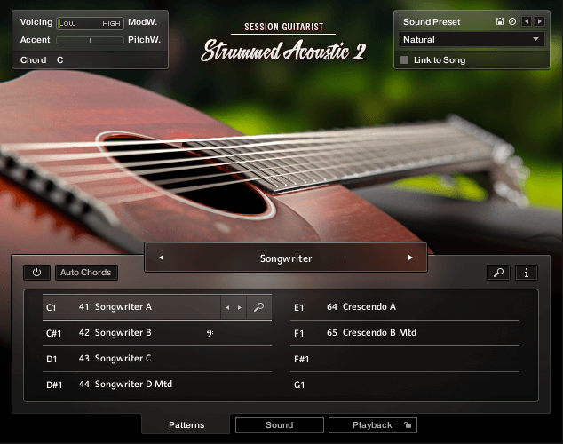 NI SESSION GUITARIST Strummed Acoustic 2 SixString Main