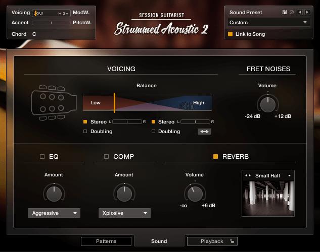 NI SESSION GUITARIST Strummed Acoustic 2 TwelveString Sound