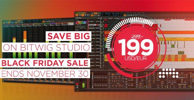 PIB Bitwig Studio sale