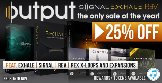 Output Kontakt instruments & Expansion packs 25% off