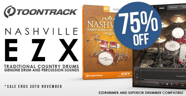 PIB ToonTrack Nashville EZX sale