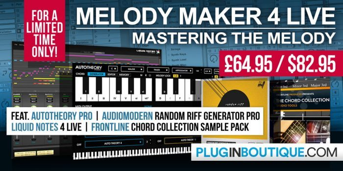 Melody Maker 4 Live Bundle exclusive at Plugin Boutique