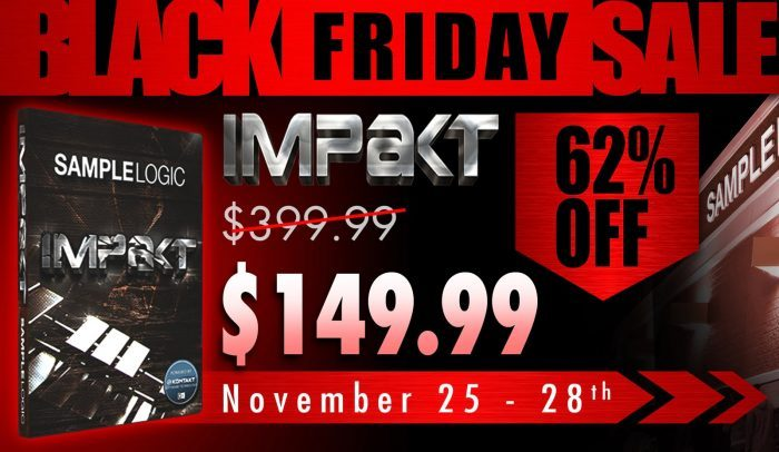 Sample Logic Impakt Black Friday
