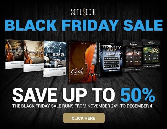 Sonuscore Black Friday