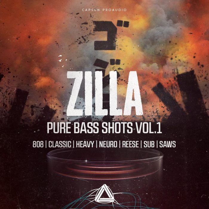 CAPSUN ProAudio Zilla Pure Bass Shots Vol 1