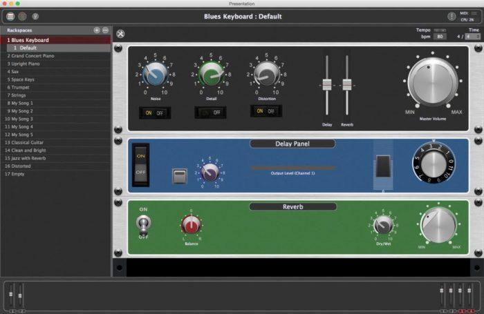 Gig Performer Screenshot 2