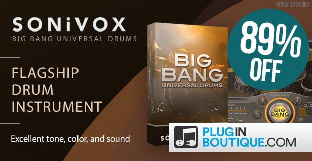 PIB Sonivox Big Bang Universal Drums 2 sale