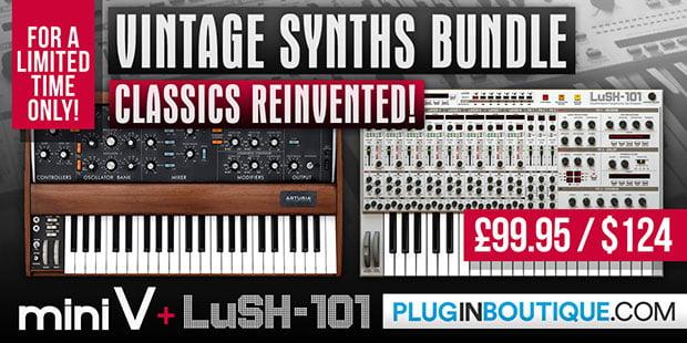 Plugin Boutiuqe Vintage Synths Bundle