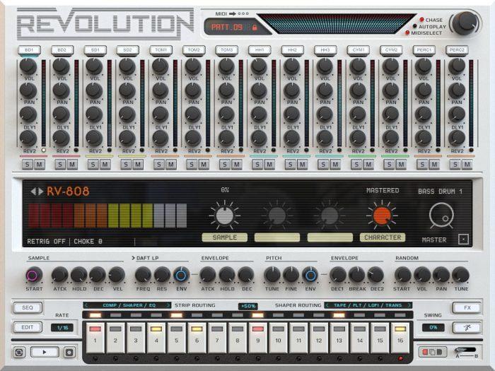 Revolution Screen   808