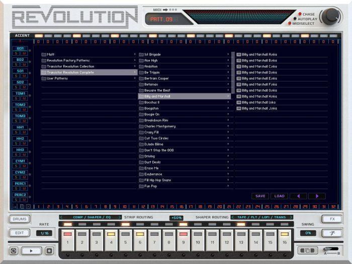 Revolution Screen   Library