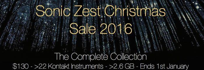 Sonic Zest Christmas Sale