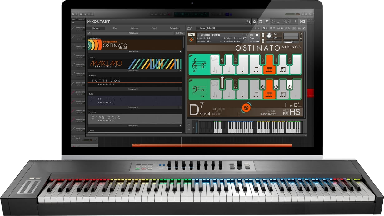 Sonokinetic Ostinato Strings for Kontakt Player released