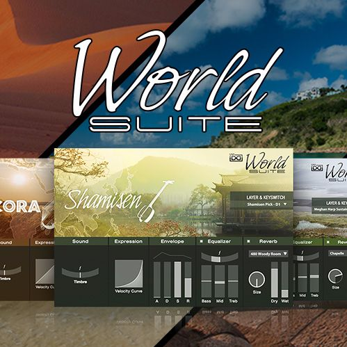 UVI World Suite - Instruments From Around The Globe released