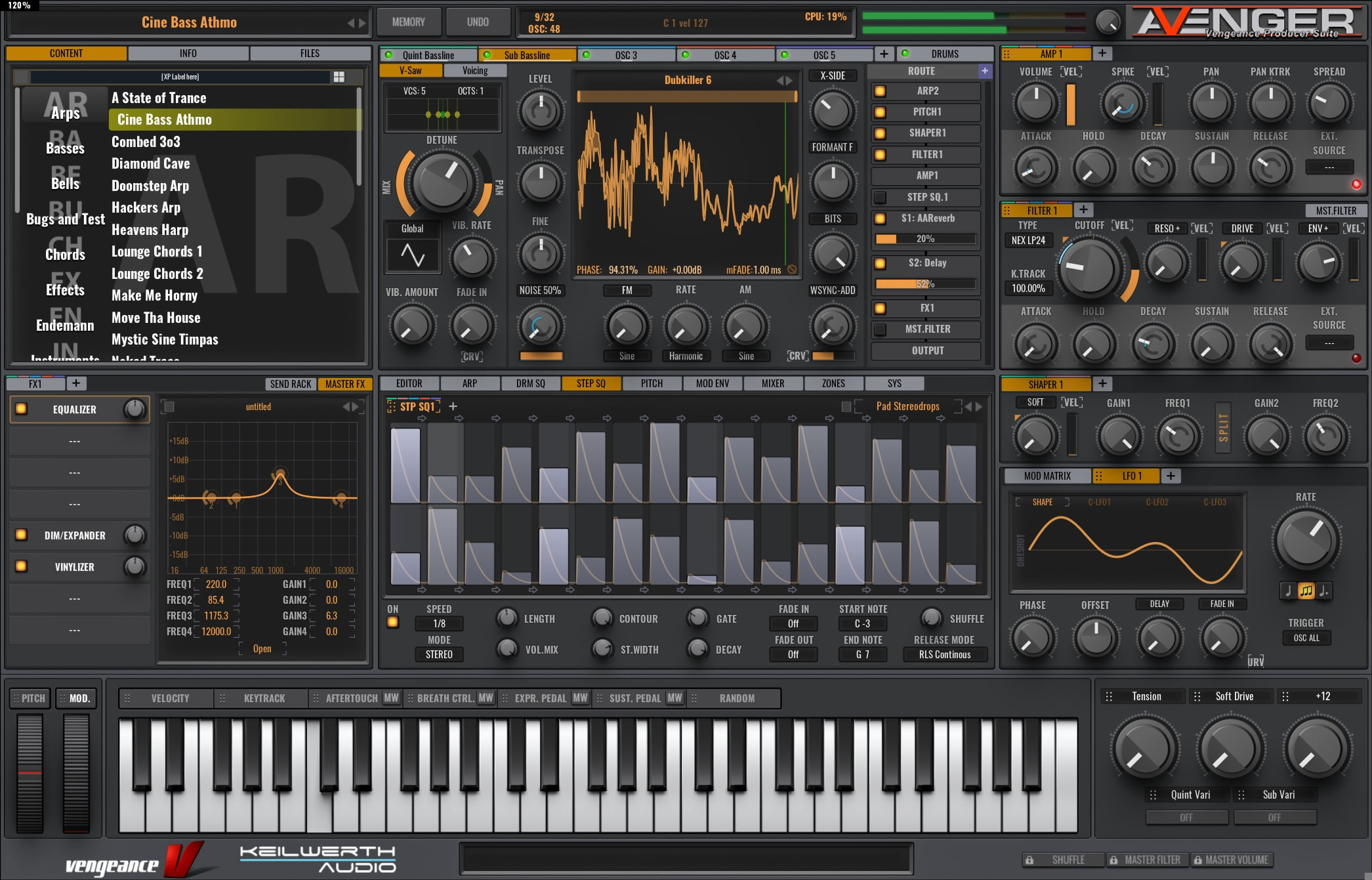 Vengeance Sound VPS Avenger synth plugin updated to v1 0 25
