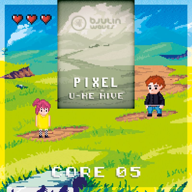 Pixel soundset for u-he Hive released at Bjulin Waves