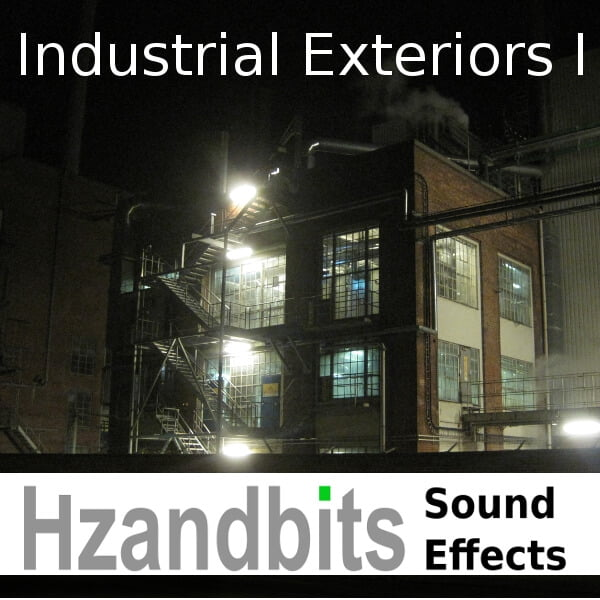 Industrial Exteriors I sound library by Hzandbits Sound Effects