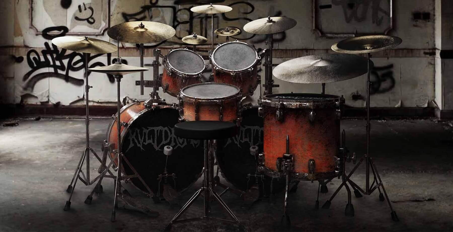 KVLT Drums old school black metal drum instrument plugin