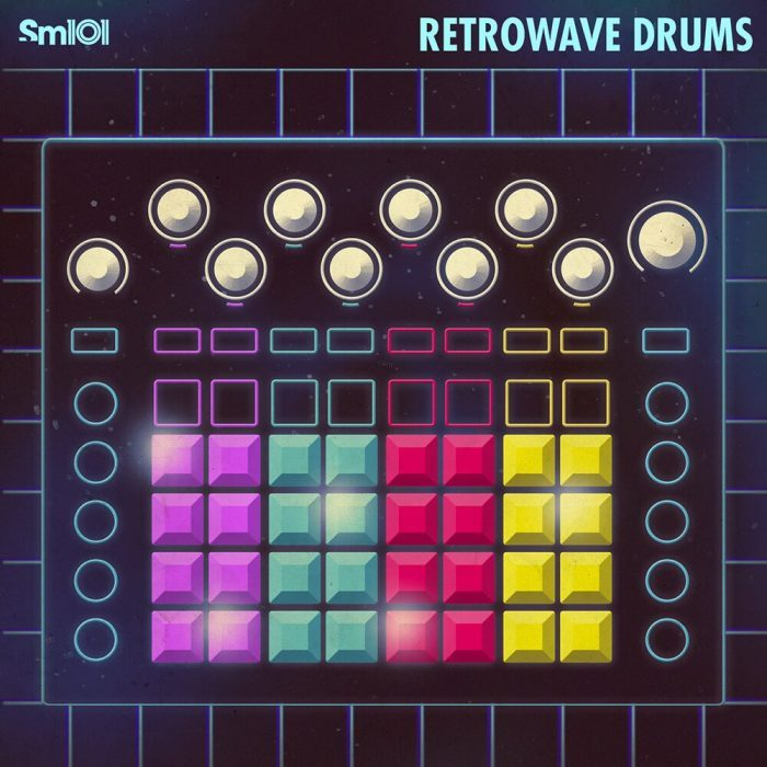Sample Magic Retrowave Drums