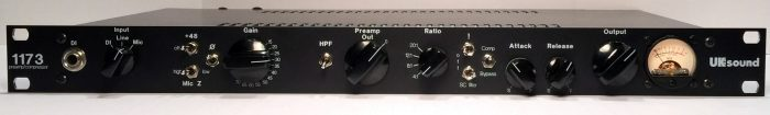 UK Sound 1173 preamp compressor