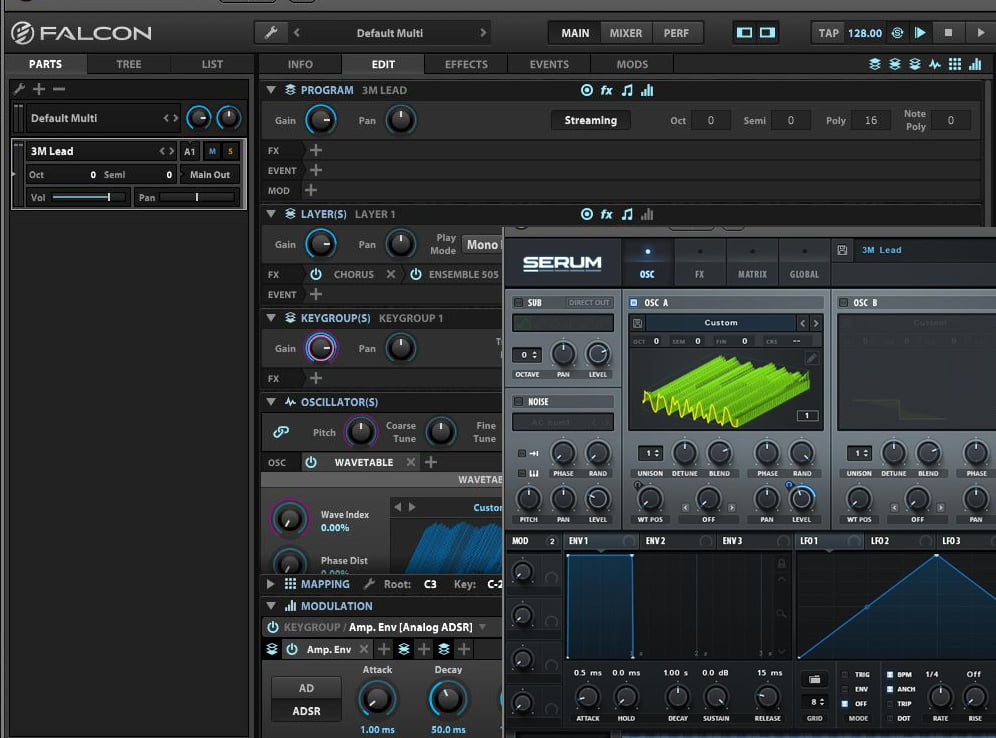 Galbanum Custom Wavetable Collection for Falcon and Serum