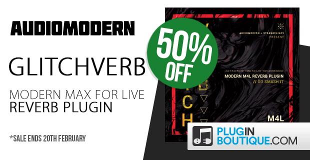 Audiomodern Glitchverb sale