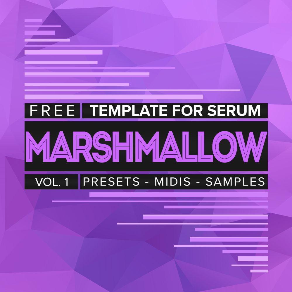 Derrek releases free Marshmallow Template for Serum Vol  1