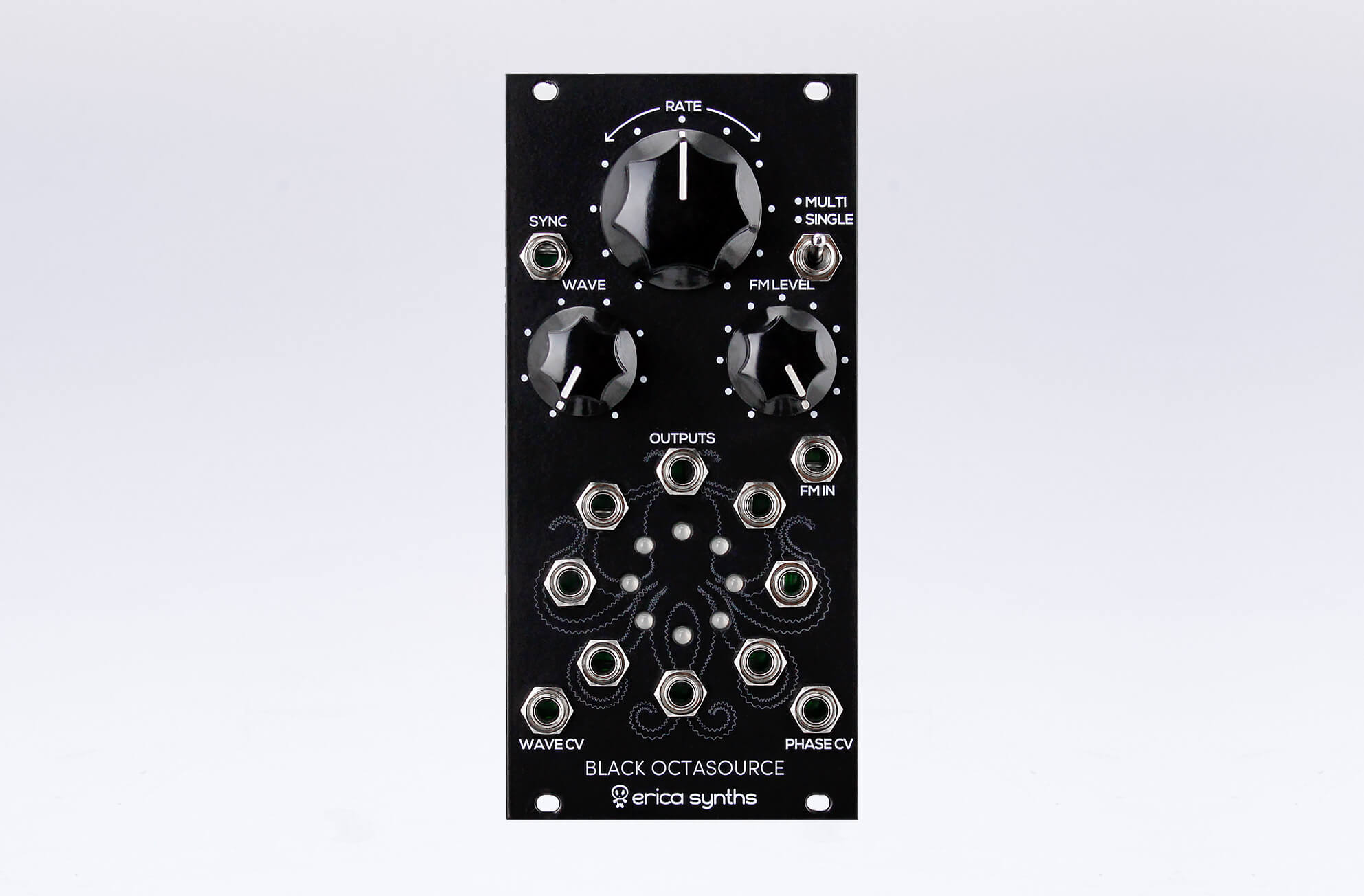 erica synths black octasource lfo eurorack module shipping