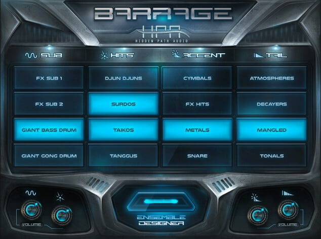 Hidden Path Audio Barrage 2