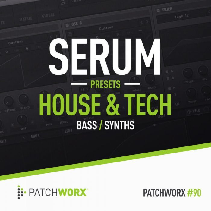 Loopmasters House & Tech Serum Presets