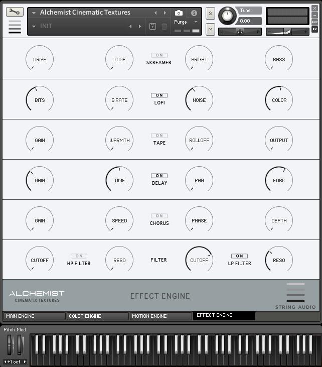String Audio Alchemist Cinematic Textures Effect Engine