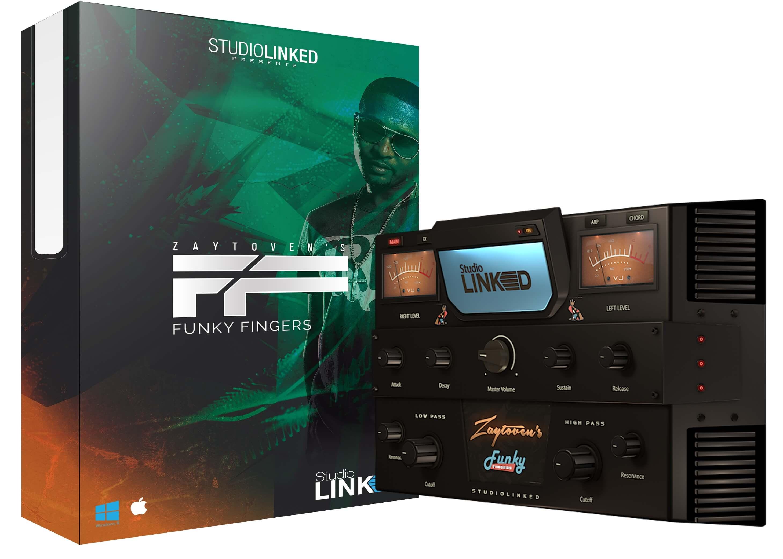 Zaytoven's Funky Fingers virtual instrument by StudioLinked