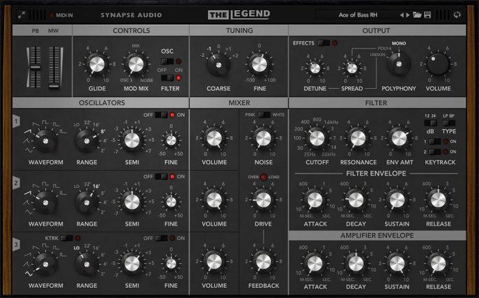 Synapse Audio The Legend 1.1
