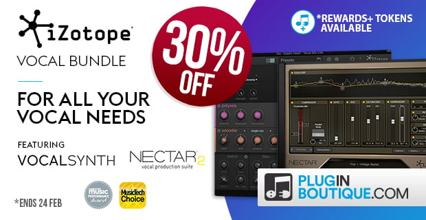 iZotope Vocal Bundle 30 PluginBoutique