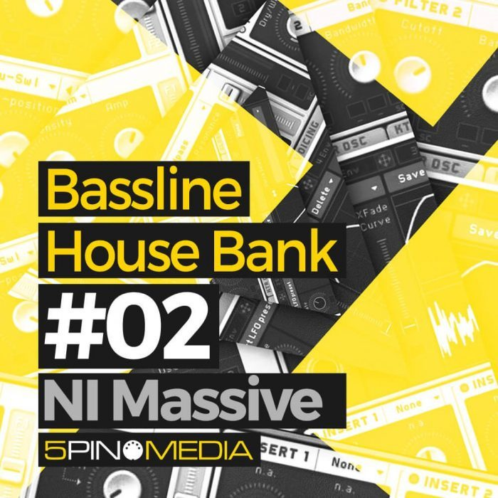 5Pin Media Bassline House Bank 02