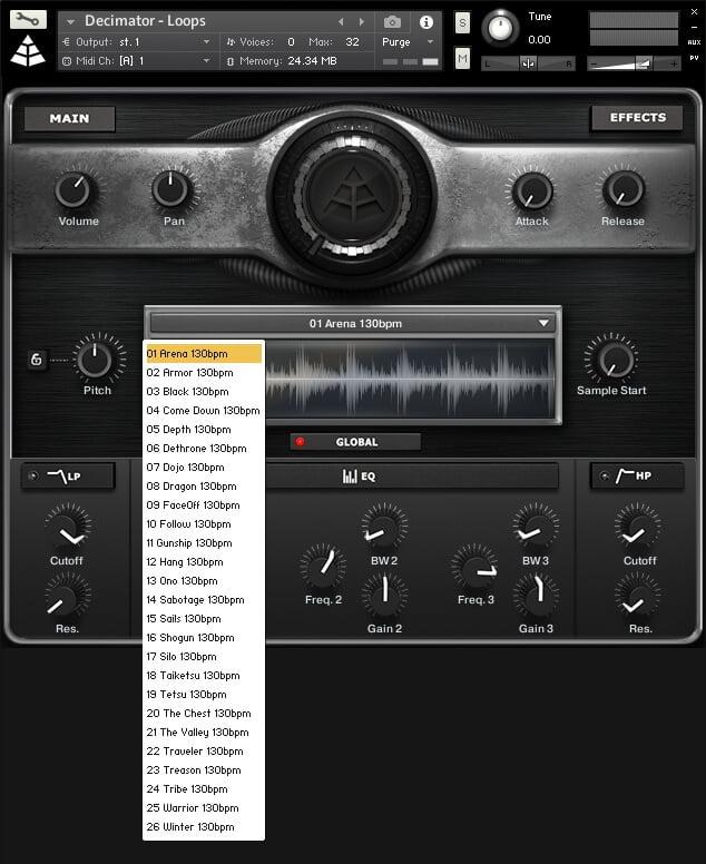 Audio Imperia Decimator Drums loops