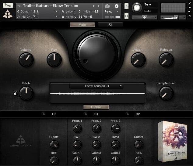Audio Imperia Trailer Guitars Tensions & Motors