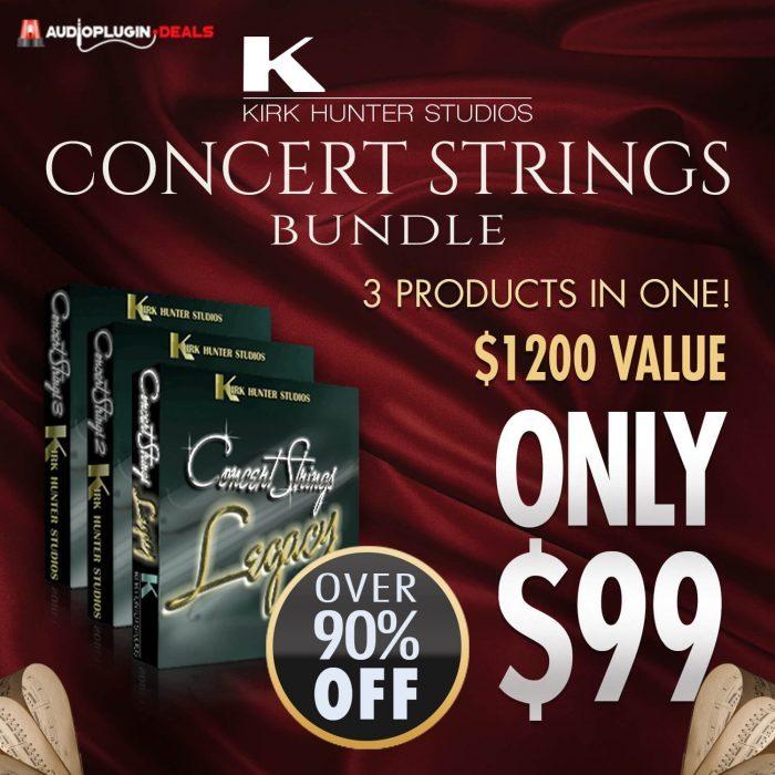 Audio Plugin Deals Kirk Hunter Concert Strings Bundle