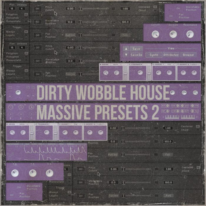 Famous Audio Dirty Wobble House Massive Presets 2