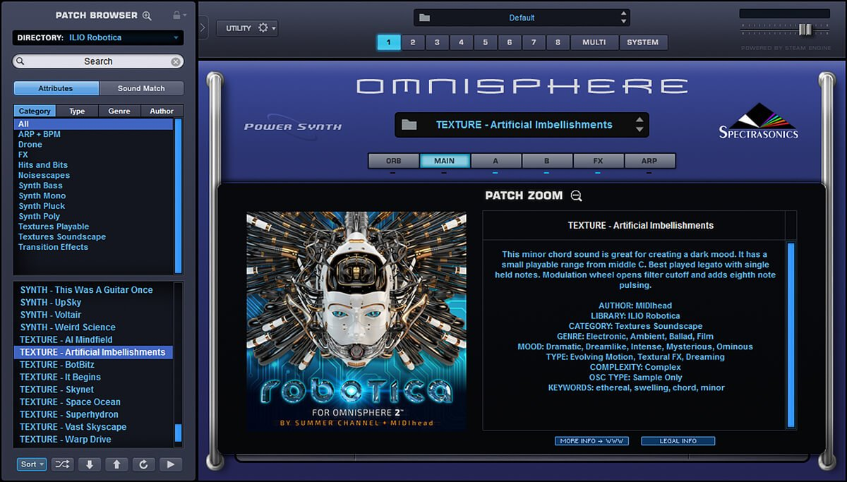 ILIO releases Robotica sound library for Omnisphere 2